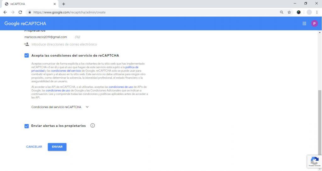 Instalando Google reCaptcha en nuestro WordPress